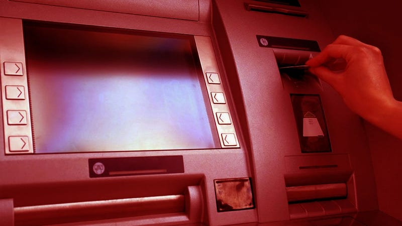 Woman Pulled from Monstrous Jaws of ATM Machine