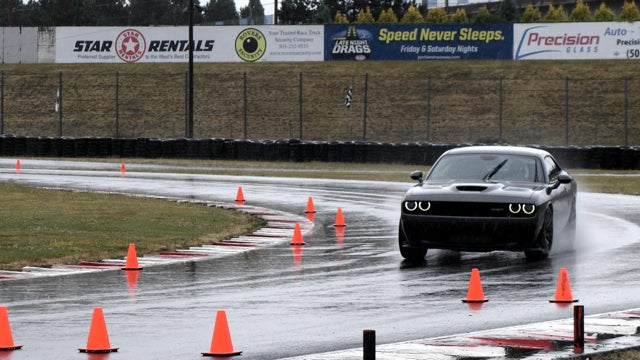 ​I'm Amazed I Didn't Die Driving The Hellcat On Track