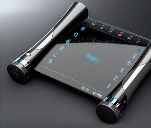 Visual Sound Is A Phone Concept For The Deaf With Transparent Touchscreen