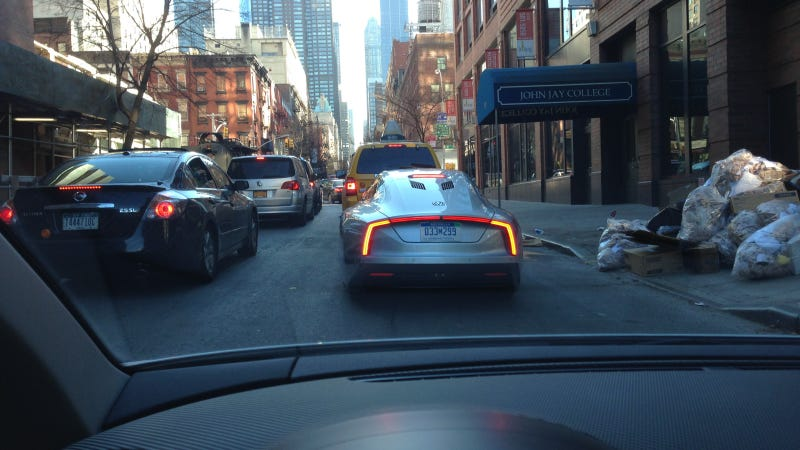 We Drove The 261 MPG Volkswagen XL1 In Manhattan Because You Can't