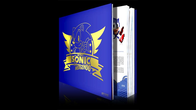 Behold, The Ultimate Coffee Table Book for Sonic Fans
