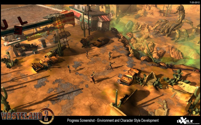 Here's What Wasteland 2 Looks Like (So Far)