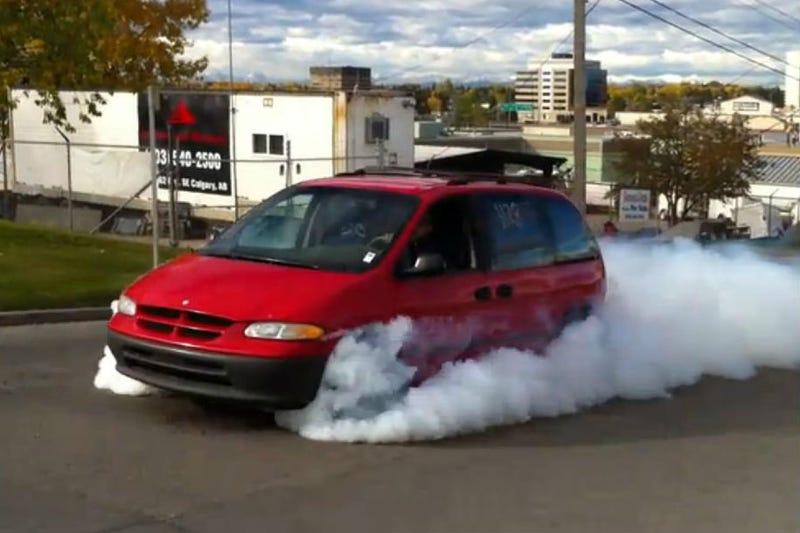Actually, minivans are pretty rad.