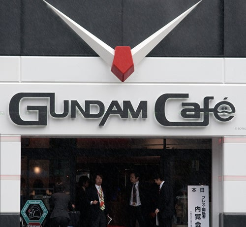 Gundam Cafe Opens In Akihabara