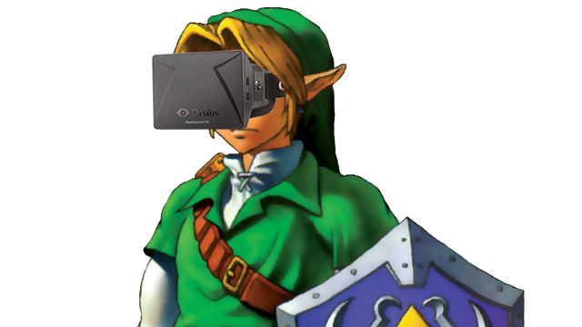 Ocarina of Time, In First Person, On The Oculus Rift