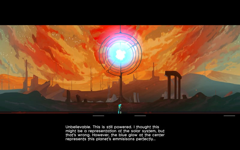 You're the One Writing the Story in This Weird, Beautiful Sci-Fi Game