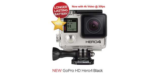 GoPro Hero 4 Rumors: 30 Fps 4K Video Capture and Touch LCD Coming Soon