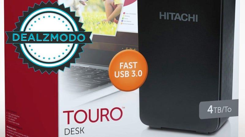 Dealzmodo: 4TB for $130, Canon 24-105mm, Nexus 7 Case, Vizio Soundbar