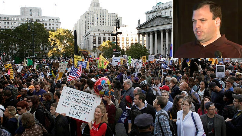 Right-Wing Rabble-Rouser Leaks Thousands of Occupy Wall Street Emails