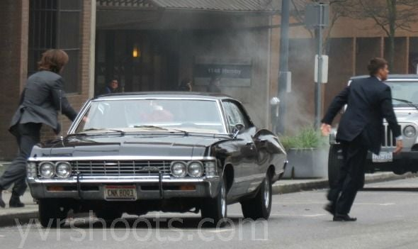 Supernatural Behind the Scenes Photos