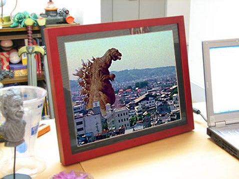 15-inch Gigantor Digital Photo Frame Comes Cheap