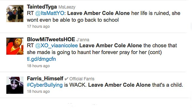 Who Cares About Amber Cole?