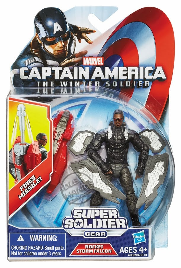 Get a super close look at Falcon's wings from Captain America 2
