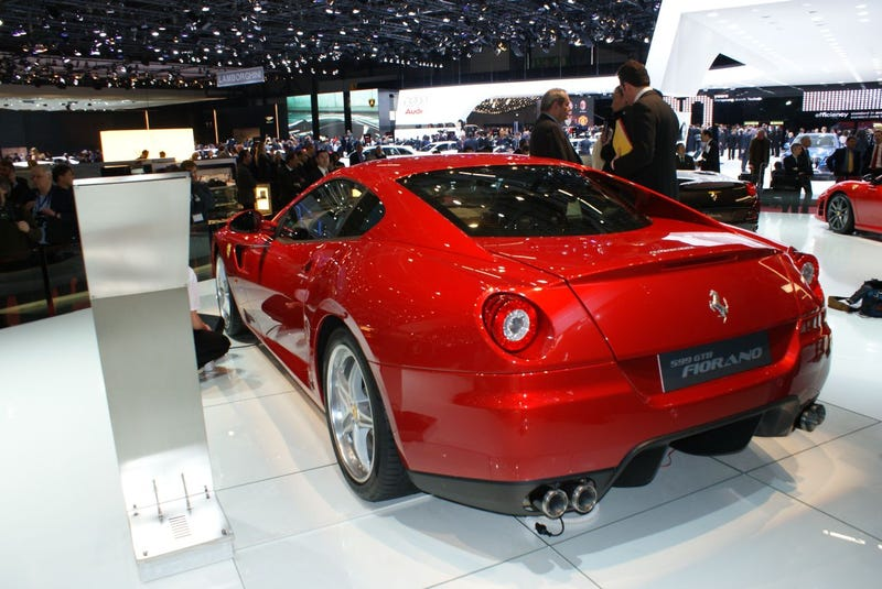 Ferrari 599 GTB Fiorano HGTE: Longer Name, Better Handling