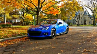 Guys! GUYS! Here's an ACTUAL picture of my new BRZ!