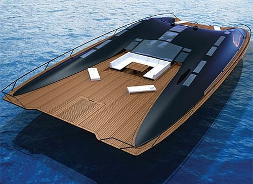 This Boat Is Perfect for Vacation, Living, or Weather Apocalypse