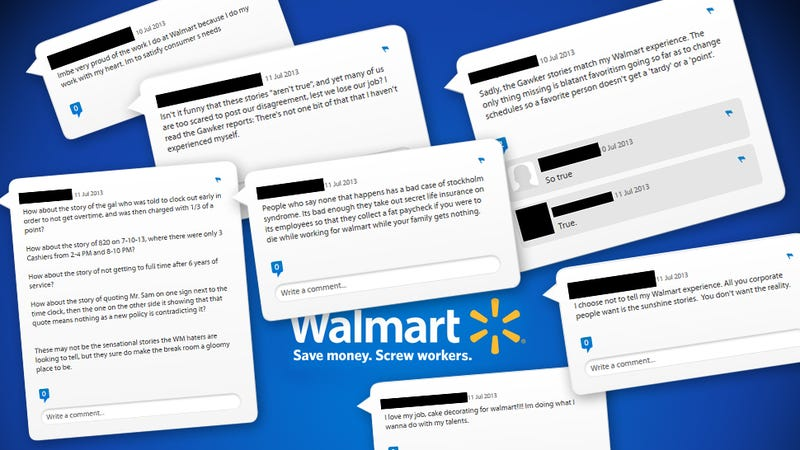 Wal-Mart Employees Rip the Company on Its Own Internal Website