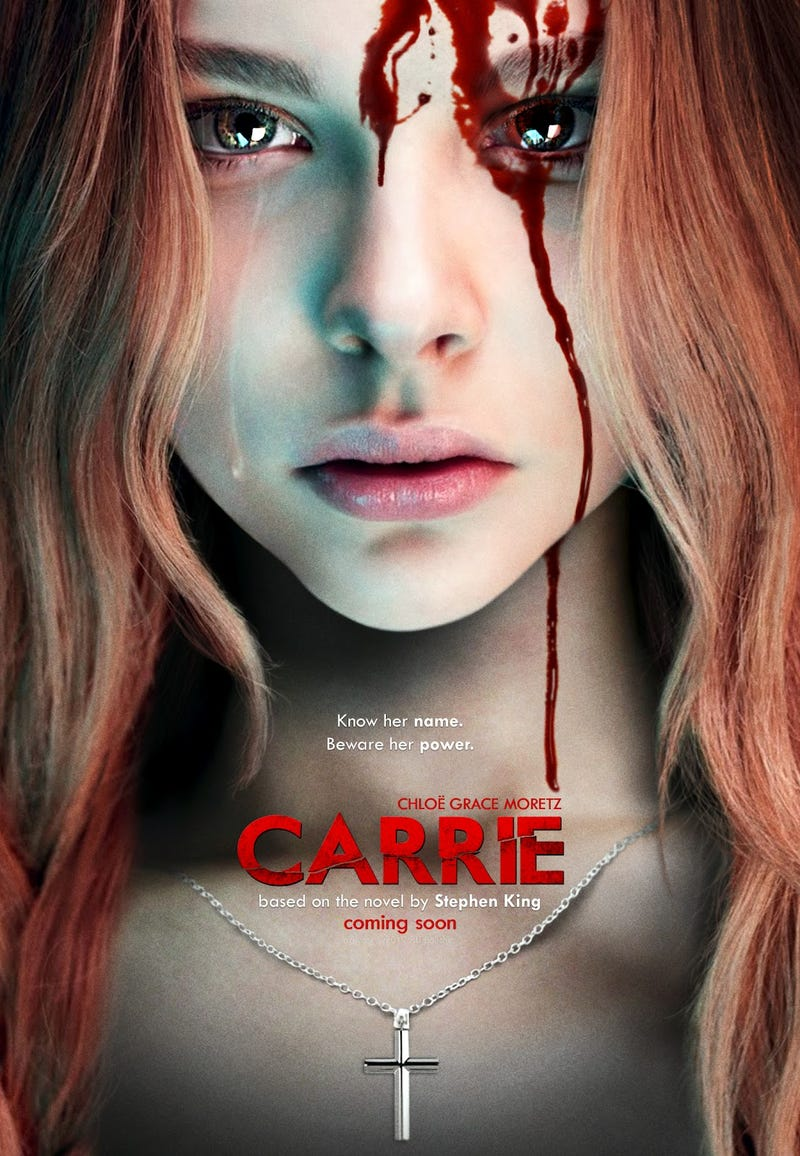 First footage from the Carrie remake reveals how it will match the book's total destruction