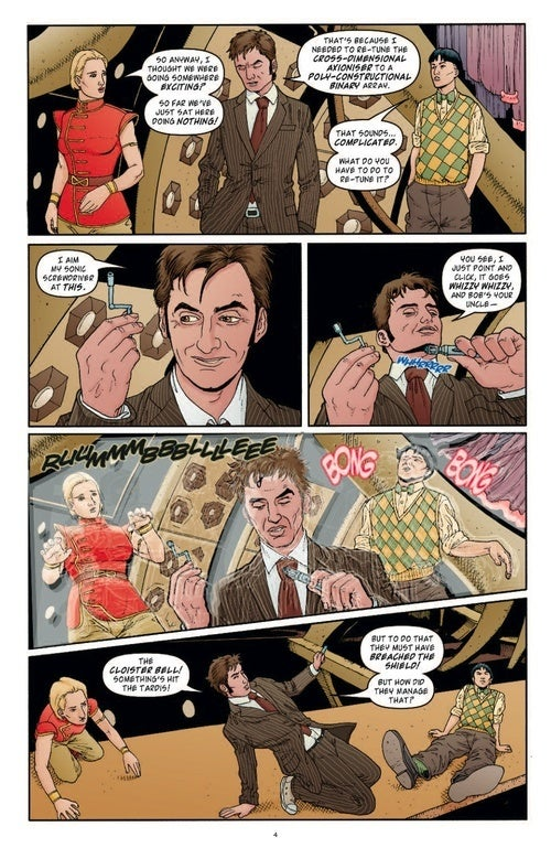Doctor Who #7 Preview