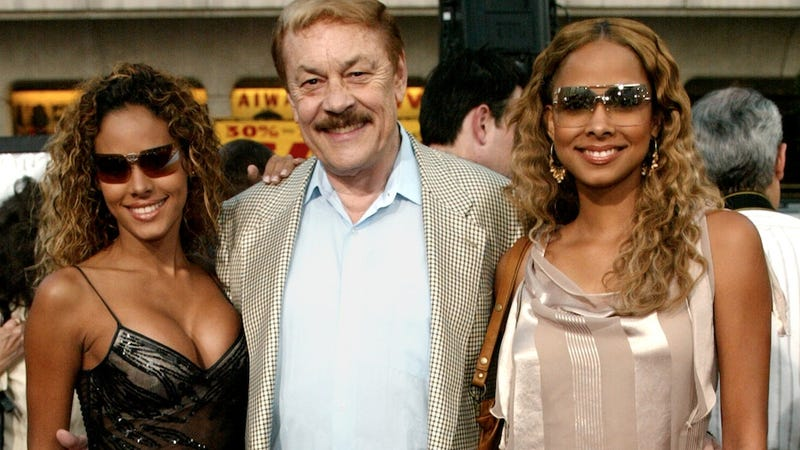 Jerry Buss, Surrounded By Boobs: A Tribute To The Greatest NBA Owner Ever