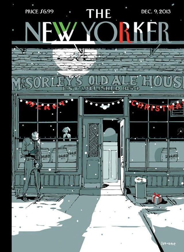 Magyar grafikus rajzolta a New Yorker címlapját