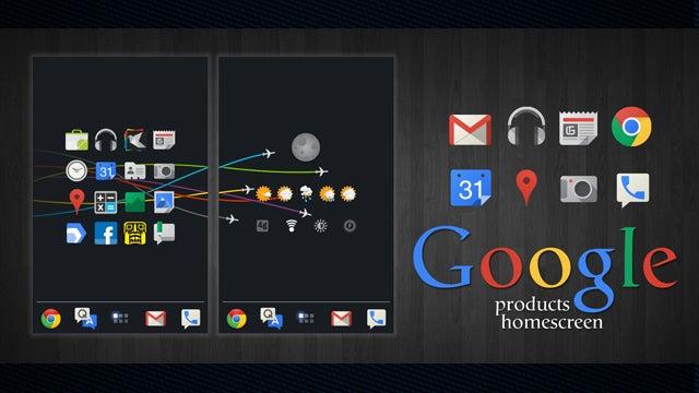 The Pure Google Home Screen