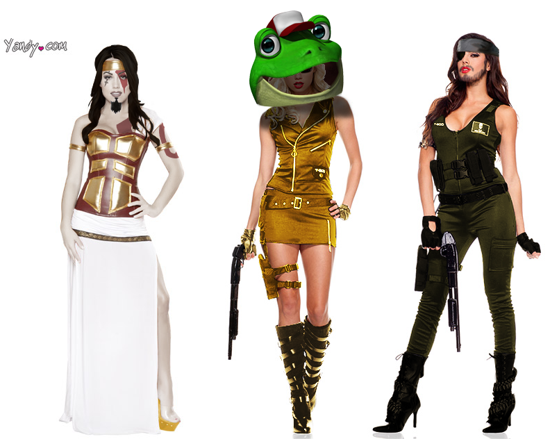 Kotaku 'Shop Contest: Sexy Video Game Halloween 2.0: The Winners