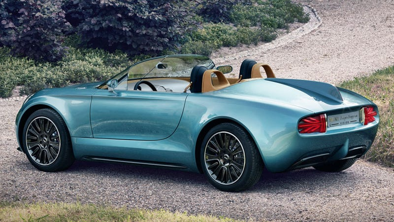 MINI Makes A Lovely Little Superleggera Roadster Concept