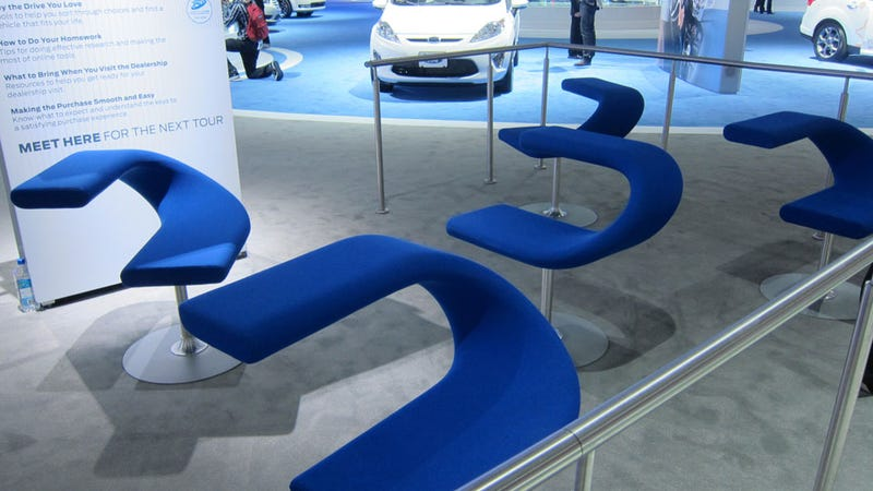 The Telling Details of The LA Auto Show Gallery
