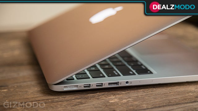 This Discounted Retina Macbook Pro Is Your Dealzmodo-Apple-Promise Deal of the Day