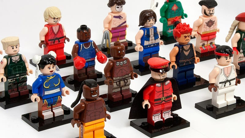Street Fighter LEGO so Good You'll Think it's Official