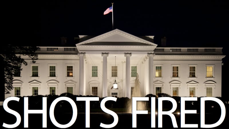 A Bullet Hit the White House