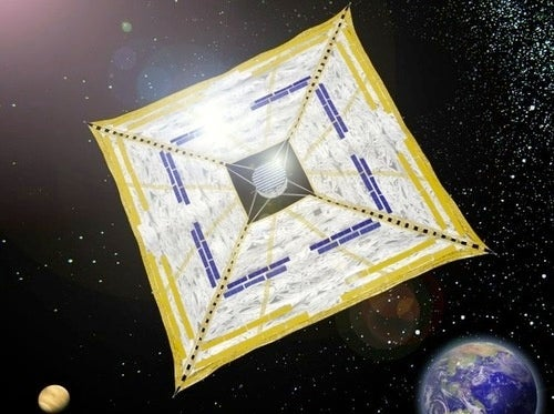 Japan Will Soon Fly A Kite...In Space