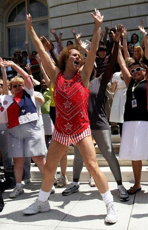 Richard Simmons Is Still At It