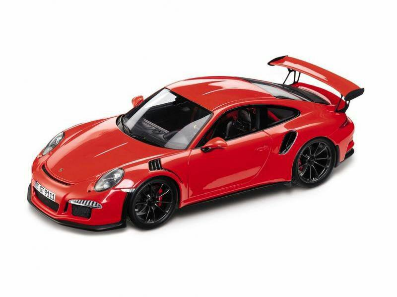 New GT3 RS (991) leaked through scale model apparently