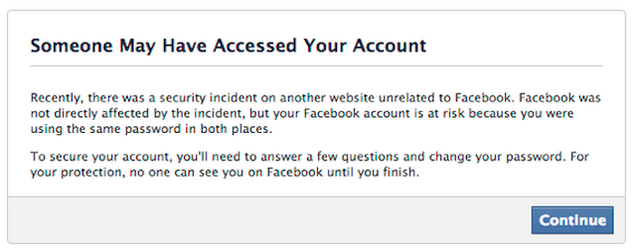 How Facebook Uses Leaked Passwords to Keep Your Account Safe