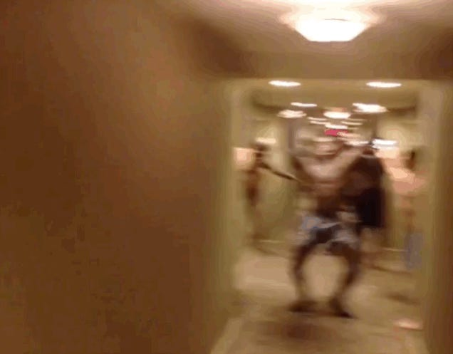UGA Rings In The New Year By Dancing Around Hotel Half-Naked