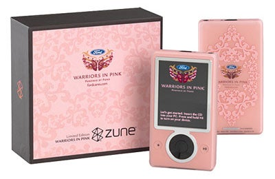 Buy a Zune, Fight Breast Cancer