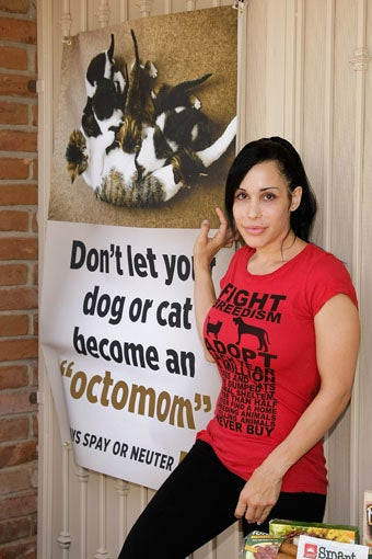 Octomom Wants You To Neuter Your Pets; Elephant Poop To Be Used As A Power Source