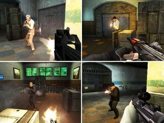 A Face Full of Hat in GoldenEye 007 Multiplayer