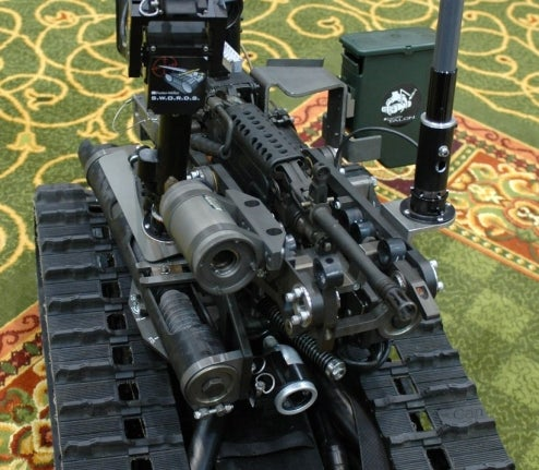 Combat Robot Attempts Rebellion Against Human Masters in Iraq, Army Pulls Plug for 10-20 Years