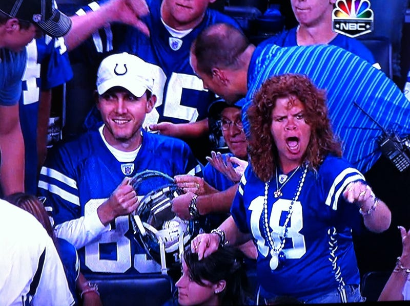 Do Not Make Eye Contact With Colts Fans; It Only Angers Them