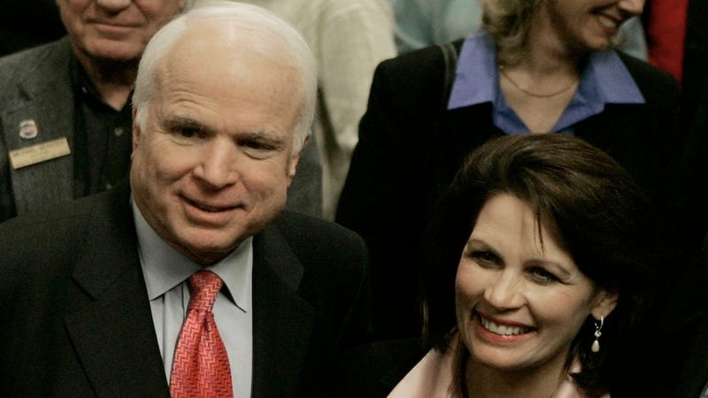 "John McCain Calls Michele Bachmann's Insane Criticism of Anthony Weiner's Wife ""Sinister"" and ""Ugly"""