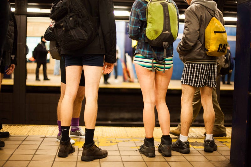 Butt Germs: No Pants Subway Ride