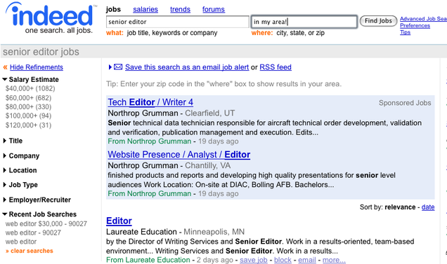 job search skills complete guide example
