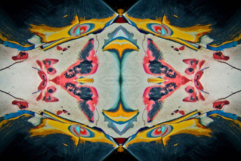 10 Vivid Rorschach Tests, Made By Camera