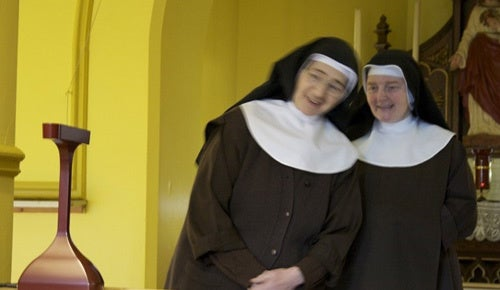 Selfless Nuns Pray to RSS Feed of Bad News