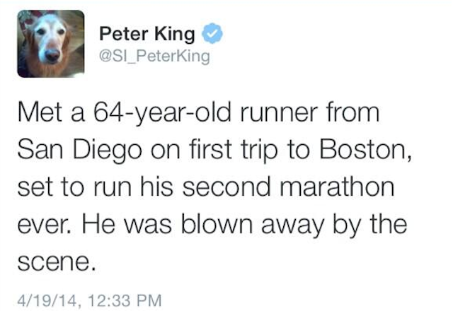 Peter King Leads The League In Poor Word Choice