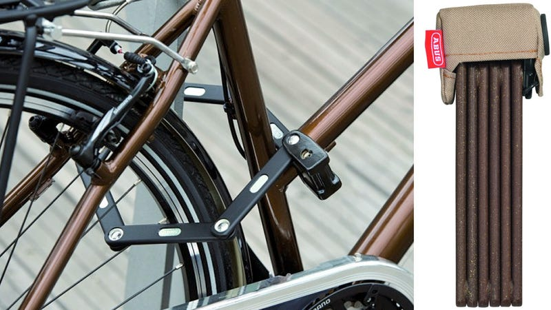 Folding Jointed Bike Lock Introduces More Places For It To Fail