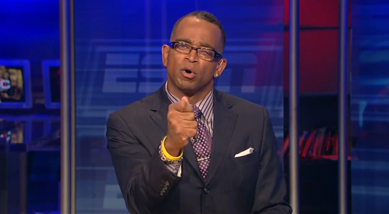 Bristolmetrics: Stuart Scott Asks SportsCenter's Single Dumbest Question Of 2012
